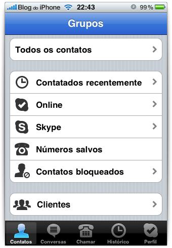 Grupid Skype'i avaekraanil