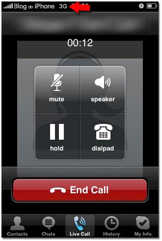 VoIP melalui jaringan 3G