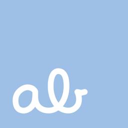 Kursiivse kirjutamise rakendus @ abCursive rakenduse ikoon