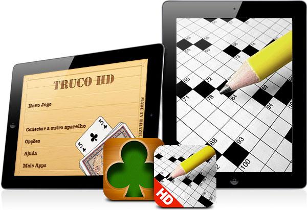 Truco ja Palavras Cruzadas saabusid iPadi versiooniga ka brasiillastele