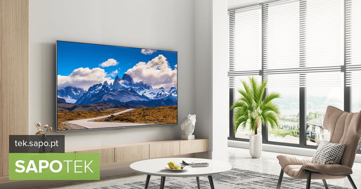 Uus 65-tolline Mi TV 4S jõudis Portugali, kasutades juurdepääsu Play poele ja Chromecastile