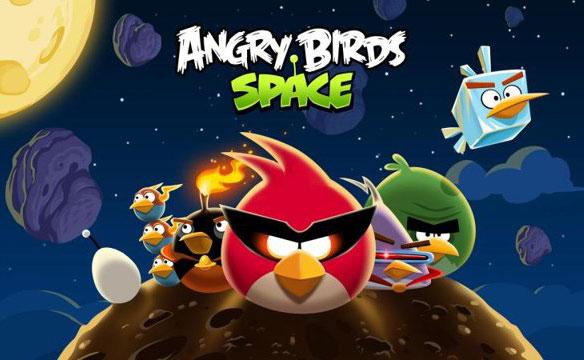Uus Angry Birds Space'i mäng jõuab App Store'i