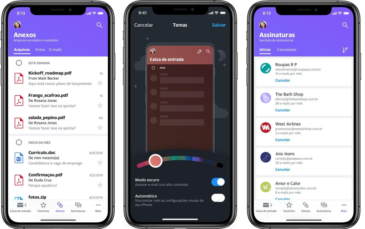 Yahoo Mail: e-posti rakendus saab nutikate vahelehtedega uue versiooni