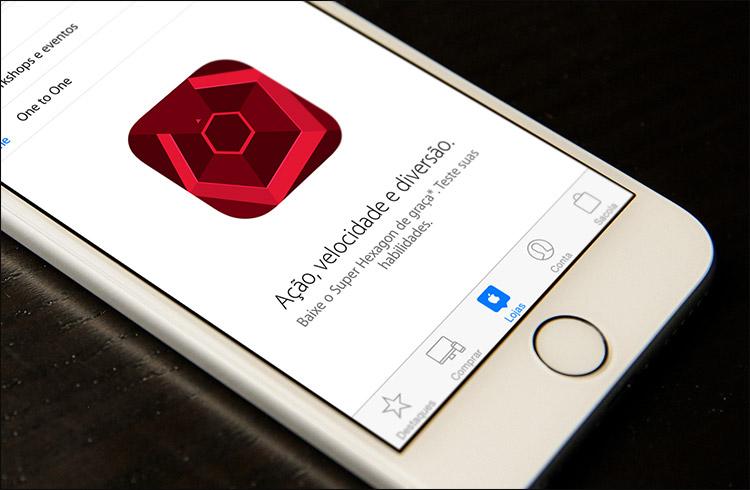 [app grátis] Super Hexagon on Apple'i pakutav nädala rakendus