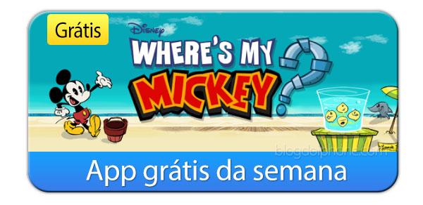 Di mana Mickey saya?