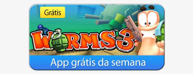 [app grátis] Worms3 on Apple'i pakutav nädala rakendus
