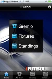 iFutbol: Brasiilia meistrivõistluste tabelid on otse teie iPhone'is